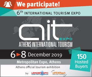 SmartbnbAIT: Η Smartbnb στην 6η International Tourism Expo 2019